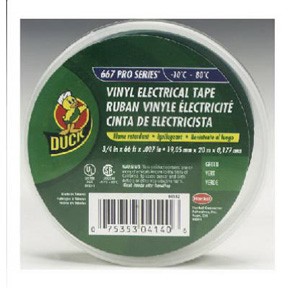 "3/4"" X 66' GREEN VINYL ELECTRIC TAPE"