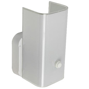 "1 LITE WALL CHANNEL FIXTURE 5"" WIDE X 7"" HIGH WHITE B7"