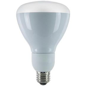 R30 15 WATT REFLECTOR FLOOD BULB 41K COOL WHITE = 60 WATT