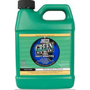 JASCO GREEN STRIP 1 HOUR PAINT  REMOVER - HALF GALLON