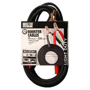 12' BOOSTER CABLES-10 GAUGE
