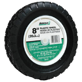 "8"" X 1.75"" MOLDED REPLACEMENT LAWN MOWER WHEEL 490-322-0003"