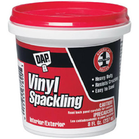 DAP 8 OZ. VINYL SPACKLING