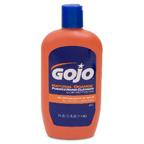 14oz GOJO ORANGE HAND CLEANER W/PUMICE