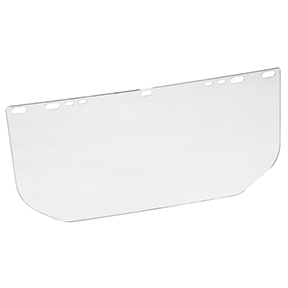 CLEAR REPLACEMENT VISOR FOR ADJUSTABLE FACE SHIELD