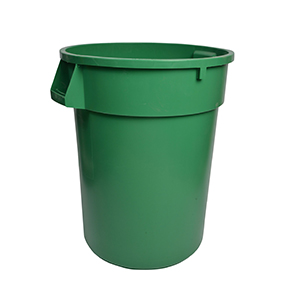 32gal GREEN GARBAGE CAN