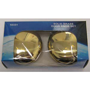 2-1/4 BRASS DOOR KNOB