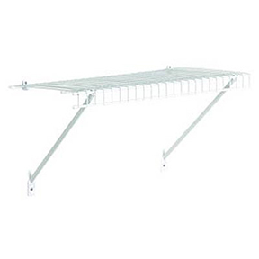 "CLOSETMAID 12""D X 4' WIRE SHELF KIT"