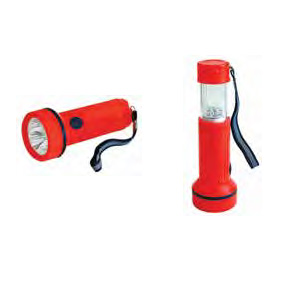 2 IN 1 3LED FLASHLIGHT & 7LED LANTERN
