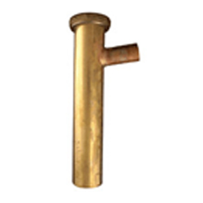 1-1/2 X 12 BRANCH TAILPIECE W/ 1/2 SWEAT TIP