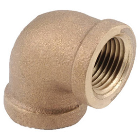 1-1/2 BRASS 90 ELBOW