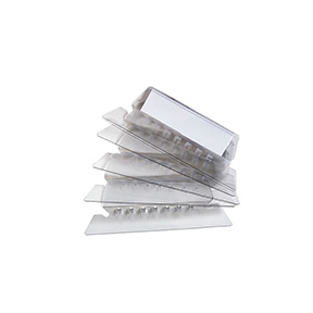 "STAPLES PLASTIC TABS, CLEAR, 2"" X 5/8"" 25/PACK WITH INSERT"