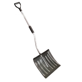 "18"" D GRIP BACKSAVER SHOVEL POLY BLADE"