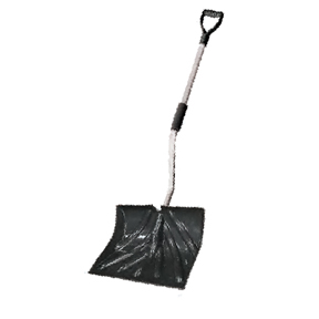 "18"" POLY BLADE PUSHER/SHOVEL-BACK SAVER"