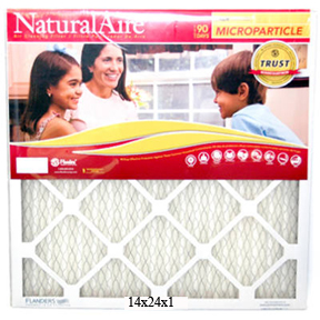 14 X 24 X 1 PLEATED NATURAL AIR FILTER