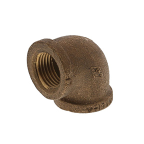 1/2 BRASS 90 ELBOW LEAD FREE
