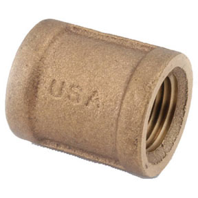 1-1/2 LEAD FREE BRASS COUPLING
