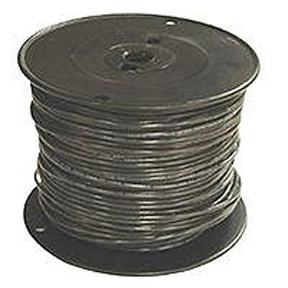 #12 STR BLACK BLDG WIRE-500'