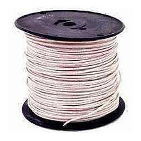 #12 SOLID WHITE BLDG WIRE-500'