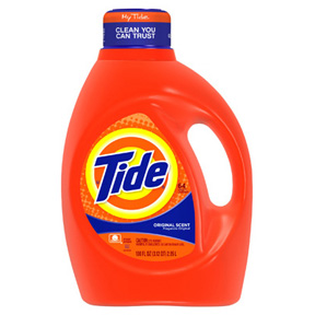 100oz LIQUID TIDE DETERGENT