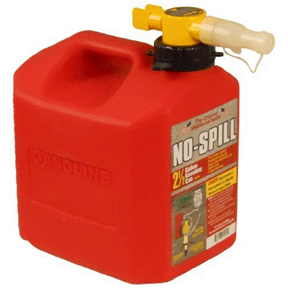 2.5 GAL NO-SPILL RED GAS CAN