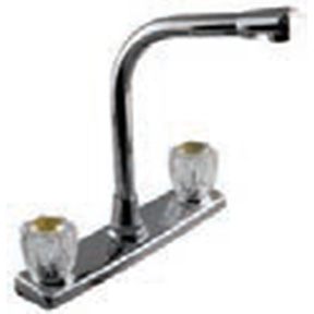 HIGH SPOUT DECK FAUCET L/SPRAY