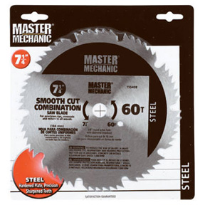 "MM 7-1/4"" 60T COMB. CIRCULAR SAW BLADE"