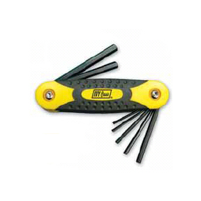 7 PC METRIC HEX KEY SET-1.5MM- 6MM