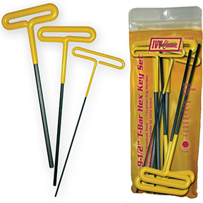 8pc T-BAR HEX KEY SET-METRIC