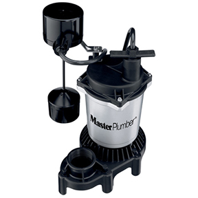 MP 1/2 HP CAST IRON & ZINC SUMP PUMP