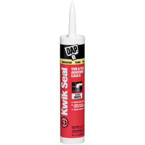 DAP 10.1oz KWIK SEAL WHITE TUB TILE CAULK-PAINTABLE