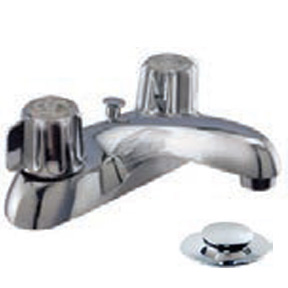 "4"" 2 HANDLE BATHROOM FAUCET-LEAD COMPLIANT"