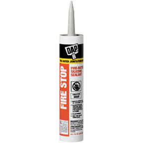 10.1oz GRAY ELASTOMERIC FIRESTOP SEALANT