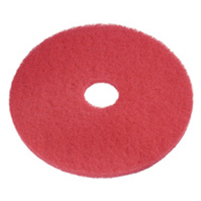 "17"" RED BUFFING PAD ( CASE )"