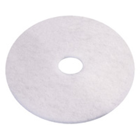 "17"" WHITE FLOOR PAD-5PK #401217"