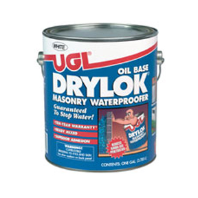 GAL OIL WHITE DRYLOK PAINT