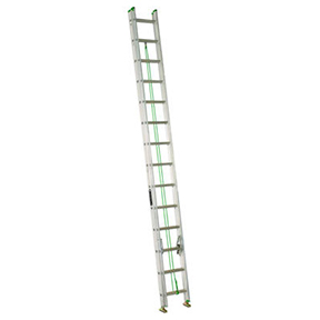 20' ALUMINUM EXTENSION LADDER TYPE II (225 LBS)