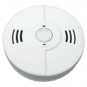 "KIDDE 120V COMBO CO & SMOKE VOICE ALARM ANNOUNCES ""FIRE"","