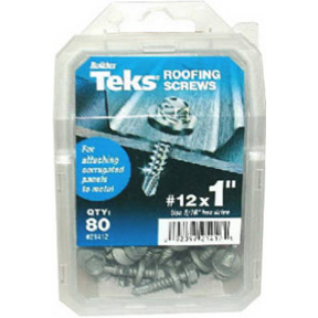80PK #12 X 1 ROOFING SCREW