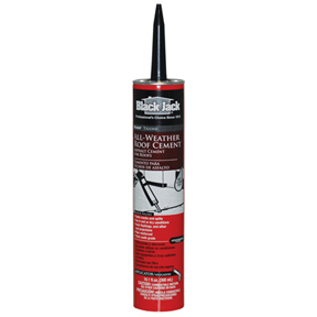 BLACK JACK 10OZ WET/DRY SURFACE ROOF CEMENT