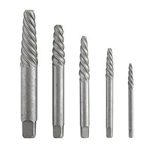 VERMONT AMERICAN 5 PC SPIRAL SCREW EXTRACTOR SET NO. 1 TO
