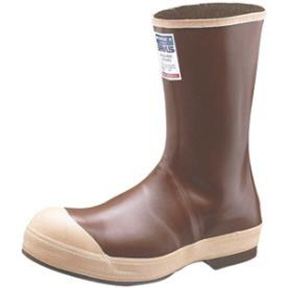 HONEYWELL SERVUS BROWN/TAN STEEL TOE WORKBOOT SIZE 11