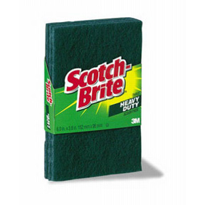 3pk 3M SCOTCH BRITE SCRUB PAD
