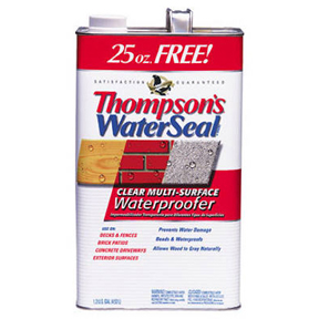 THOMPSONS WATER SEAL BONUS GALLON SIZE - VOC COMPLIANT