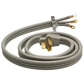 6' REPLACEMENT FLAT DRYER CORD - 6/2 & 8/1