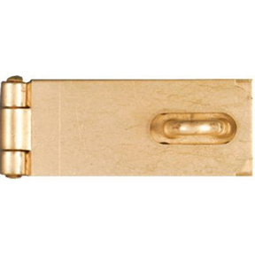 "2"" BRASS PLATED SAFETY HASP"