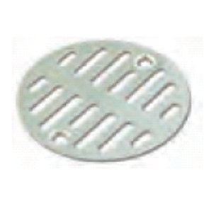 "STAINLESS STEEL SHOWER GRID 3-1/2"" OD 2-3/4"" CENTERS ON"