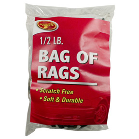 1/2LB SOFT BAG OF RAGS
