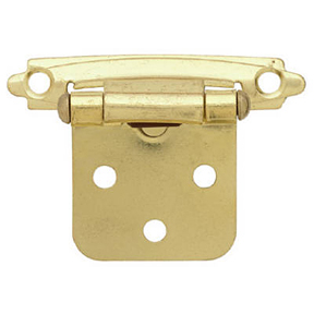 SELF CLOSING POLISHED BRASS HINGE
