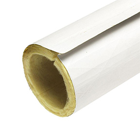 "2"" X 3' FIBERGLASS PIPE INSUL- ATION- 1/2"" WALL"
